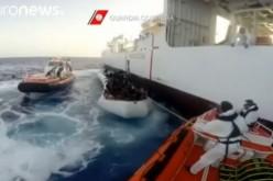 Libye: 10 morts et 107 migrants sauvés à bord d'un canot