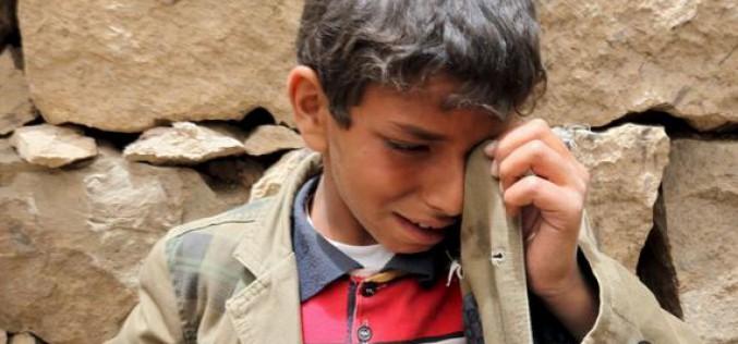 Pour L'ONU les enfants continuaient de payer un lourd tribut en temps de guerre, « Au Yémen, six fois plus d'enfants ont été tués et mutilés en 2015 que l'année précédente »