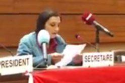 """""""Guerre et impunité au Yémen"""" Marinella Correggia, porte parole du réseau NO WAR- 33 ème session du Conseil des Droits de l'Homme-l'ONU  –  vidéo"""