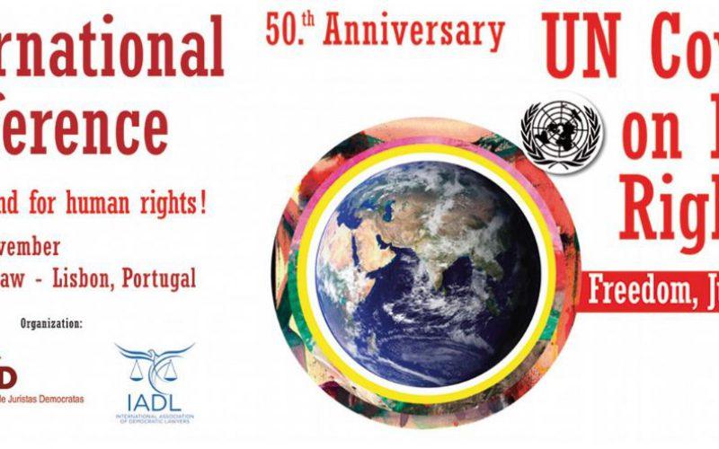 ADH à la Conférence internationale de Lisbonne