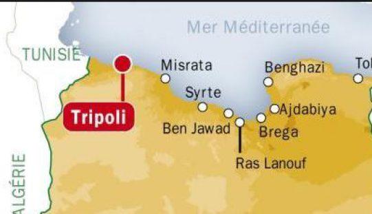Lybie: Deux femmes et deux petites filles tuées dans une plage de Tripoli par un tir d'artillerie
