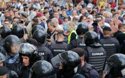 Moscou : L'opposition russe de nouveau dans la rue pour exiger des élections libres