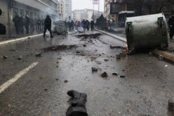 Kosovo: Violente manifestation antigouvernementale
