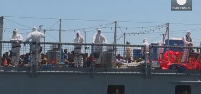 4000 migrants ont été secourues seulement ce week-end (video)