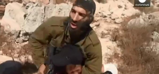 Cisjordanie : arrestation d'un garçon, vidéo