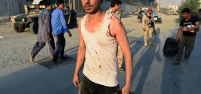 Kaboul: 8 morts, plus de 100 blessés dans un attentat