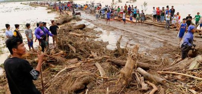 4,5 millions d'enfants affectés par le typhon Koppu, selon l'UNICEF