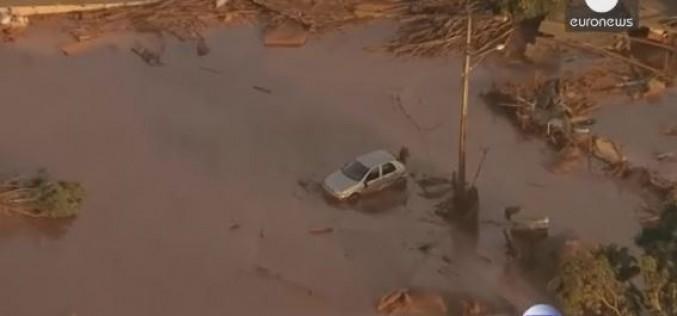 Brésil : au moins 17 morts après l'effondrement d'un barrage minier – vidéo