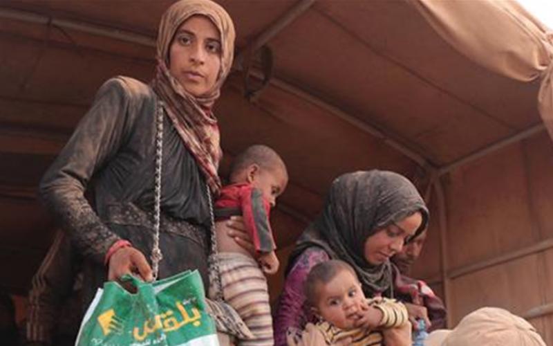 Jordanie: Risque de crise humanitaire pour 12 000 réfugiés en provenance de Syrie