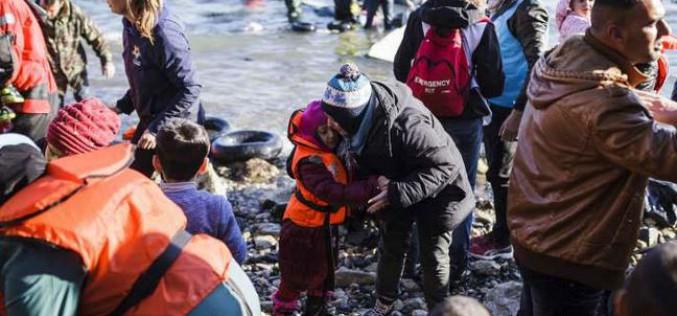 Plus d'un million de réfugiés et migrants sont arrivés en Europe par la mer en 2015 (HCR)