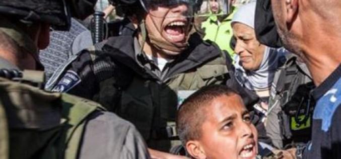 2.000 mineurs palestiniens arrêtés depuis Octobre dernier