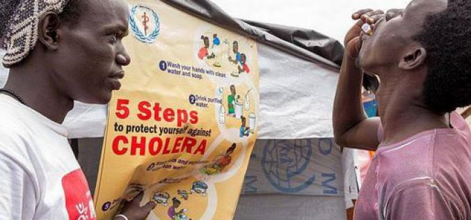 Soudan du Sud : Forte hausse de cas suspects de choléra, selon l'UNICEF