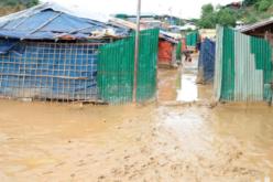 Réfugiés rohingyas: des dizaines d'abris détruits par les inondations, (ONU)